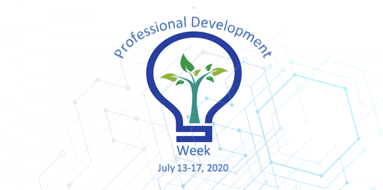Professional Development Week graphic