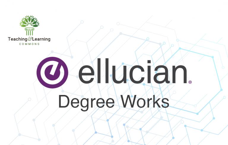 Ellucian Degree Works graphic